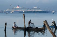 Fischer in Cochin (Kerala), Teil der Indienreise http://www.mahatravel.com/klassiker_suedindien-kultur-und-erholung