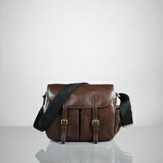 Ralph Lauren Gents Leather Field Bag