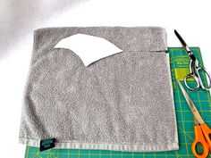 Just Crafty Enough – Shark Hoodie Towel