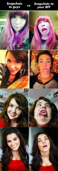 Every selfy should require a follow up selfy with a goofy face! Awesome!