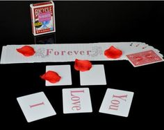 >> Click to Buy << Free shipping,2015 The best magic for lover, I Love You(Forever) - Romantic Card Magic tricks,stage magic,Accessories,illusions #Affiliate