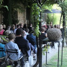 Outdoor Cermony - Simply Provence Wedding