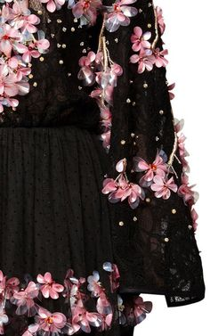 Cherry Blossom Beaded Gown by Romance Was Born