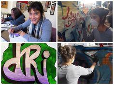 Graffiti class in San Francisco - www.sabiar.com #graffiti #sanfrancisco