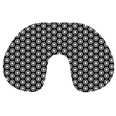 Groovy Circles Travel Neck Pillow