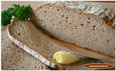 Glutenfreies Kastanienbrot! Saftig und geschmackvoll! www.rezepte-glutenfrei.de