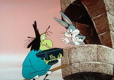 Looney Tunes, Bugs Bunny and Witch Hazel