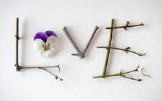 """motleymakery: """" DIY Inspiration Twig Love by Something to See on Flickr """""""