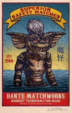 'Gremlins' match book cover