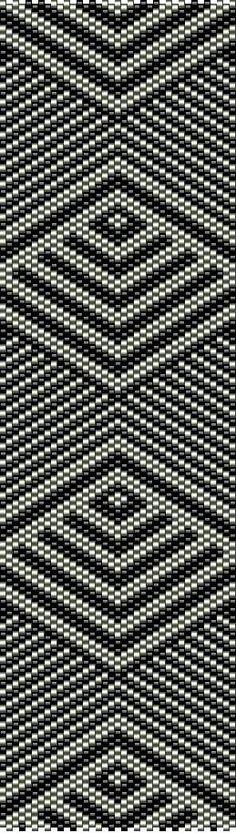 Peyote Beading, Beaded Bracelet Patterns, Peyote Patterns, Beading Patterns, Beaded Bracelets, Beadwork, Chevron, Bead Crafts, Bracelets