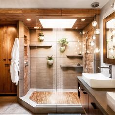 Teak floors in a walk in shower 2019 Dream shower! Teak floors in a walk in shower The post Dream shower! Teak floors in a walk in shower 2019 appeared first on Shower Diy. House Design, House, House Bathroom, Dream Bathrooms, Bathroom Inspiration Modern, House Rooms, House Interior, Home Interior Design, Bathrooms Remodel