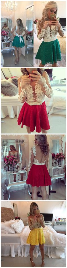 Cute Homecoming Dress,Short Prom Dress,Charming Homecoming Dress,Lace Prom Dress,Hot Sale Homecoming Dress,A-LINE SCOOP SHORT PROM DRSESS HOMECOMING DRESS