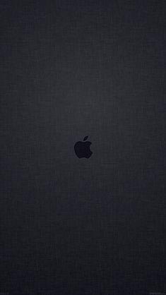 Best of Macintosh Apple Logo Wallpapers. Tap image for more! Grey Wallpaper Mobile, Black Apple Wallpaper, Apple Logo Wallpaper Iphone, Iphone 6 Plus Wallpaper, Iphone Homescreen Wallpaper, Best Iphone Wallpapers, Dark Wallpaper, Image Hd, Backgrounds