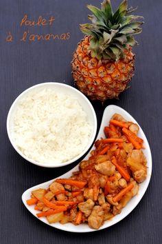 Poulet à l'ananas comme au resto chinois