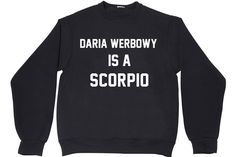 DARIA WERBOWY IS A SCORPIO | PRIVATE PARTY