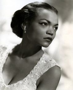 Eartha Kitt, 1950s - Click image to find more Film, Music & Books Pinterest pins
