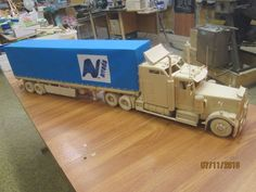 Wooden models Wooden Toy Train, Wooden Toy Trucks, Wooden Toys, Fruit Custard, Toy Castle, Model Car, Forts, Mac, Ideas