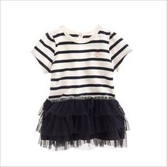If Gwen Stefani Has a Girl, Heres How She Could Dress Her - Baby Petit Bateau Tutu Dress