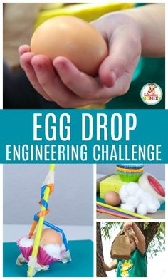 the egg drop of something that every child enjoys creating a cushion for their eggs so that way does not crack, dropping it from various heights and recording the record. Amazing STEM Activities for Kids to Get Them Excited for the School Year School Age Activities, Holiday Activities For Kids, Stem Activities For Preschool, School Age Crafts, Scout Activities, Spring Activities, Math Stem, Stem Science, Science Week