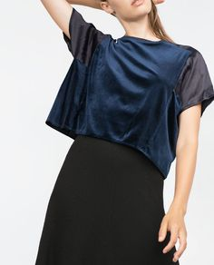 Image 4 of ROUND NECK TOP from Zara