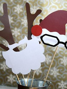 Party Frosting: Holiday time! Santa Claus Christmas Ideas/inspiration