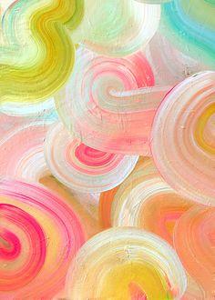 Citrus Swirls by Carol Barber Nursery Wall Murals, Nursery Art, Collections Photography, Teen Art, Letterpress Invitations, Photo Calendar, Childrens Room Decor, Birthday Greeting Cards, Summer Art