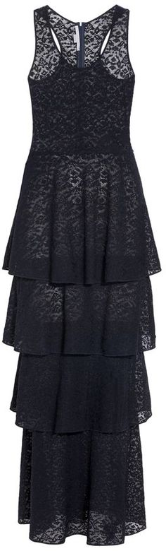 Stella McCartney Navy Lace Knit Dress