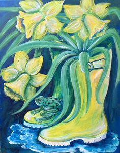 Gathering Daffodils