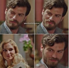 Kivanc Tatlitug as Seyit, the Russian Military Officer who fell in love with Sura, Farah Zeynep Abdullah, a young girl of Russian Nobility in the Turkish TV series Kurt Seyit ve Sura, Travis Fimmel, Kurt Seyit And Sura, Drama Tv Series, Turkish Actors, Great Love, Best Actor, Gq, Cute Couples, Love Story