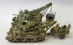 M31 (T2) Tank Recovery Vehicle Model AFV