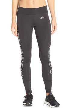 adidas 'Branded' Performance Tights available at #Nordstrom
