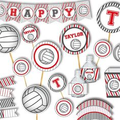 25 Awesome Volleyball Party Ideas Images In 2019 Volleyball