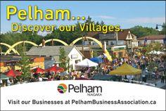 The Pelham Destination Marketing Plan 2014 for the Pelham Business Association. The latest ad in Biz Niagara. Marketing Plan, Ads, How To Plan, Studio, Business, Travel, Design, Voyage, Viajes