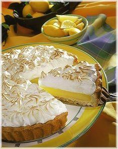 Lemon pie (receta super facil, y riquisima) Pie Recipes, Baking Recipes, Sweet Recipes, Dessert Recipes, Apple Desserts, Cupcake Cakes, Food And Drink, Favorite Recipes, Sweets