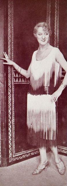 Les Modes (Paris) January 1927 Robe du Soir par Jean Magnin