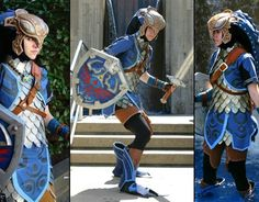 Amazing Link cosplay holy crap. This is his Zoe's tunic