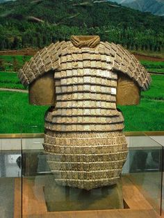 New stone armour found in the tomb of China's first emperor