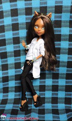 Шьем штаны с карманами и длинную кофту для куколки Monster High | Monster High Club