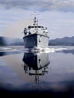 HMS BROCKLESBY sails from HMNB Clyde for the final time.