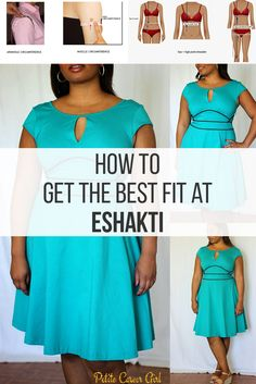 Curvy, Petite Outfit Ideas | Professional and Casual-Chic Fashion and Style Inspiration | How to get the best fit at eShakti!