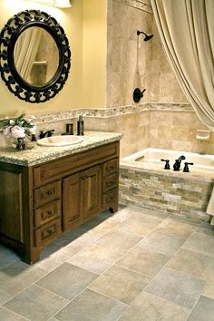 Like Shower And Tub Tile