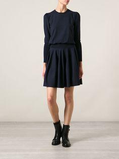 Alexander Mcqueen Knit Dress - Monti - Farfetch.com
