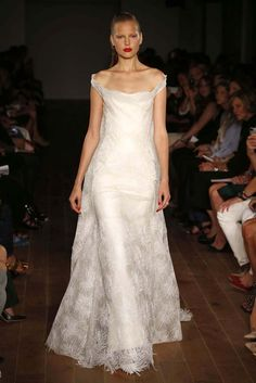 Zac Posen. The Ultimate in Bridal from NYFW | RILEY & GREY http://blog.rileygrey.com/?p=1325