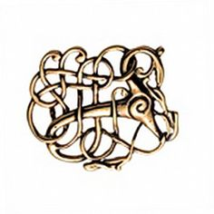 #Replica of the #Brooch from Lindholm Hoeje / #Viking age  - Available in wholesale and retail on www.peraperis.com and Esy - 12.99 €