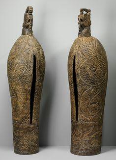 Pair of gulgul, early 20th century. Indonesia (Madura)