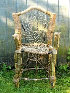 Dreamcatcher Throne No.1 Handmade & Recycled by HagendorfOriginals