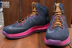 "Nike LeBron X EXT QS ""Denim"" - More Images 