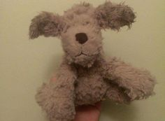 Found at Prebend Gardens, London (under the bridge) on 04 Sep. 2016 by Siân: Small, scruffy, light brown Jellycat dog with floppy ears and black nose a Sep 2016, Jellycat, Pet Toys, Bridge, Teddy Bear, Gardens, London, Dogs, Animals
