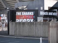 This is Kingspark the rugby stadium of the Sharks Hilary Knight, Sharks, Book Series, Rugby, Holiday, Christmas, Black And White, Black White, Vacations