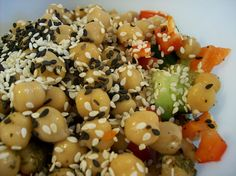 """""""I 'Sees' Some Seeds!""""    I made this salad for my mum to take to work tomorrow while """"on detox"""" - it's actually got 4 types of seeds in it (black sesame, white sesame, quinoa and amaranth) with sweet red pepper, crunchy cukes and a handful of chickpea Also take a look at this  Awesome way  to Detox your Body check out  this  wonderfulWebsite I found at: http://www.lipocleansesolu"""